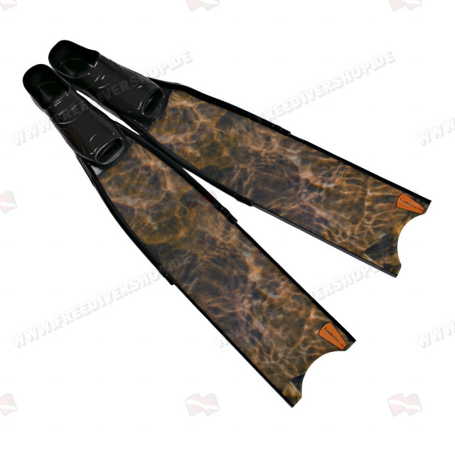 Leaderfins Wave Camo Black Fins + Fins Box