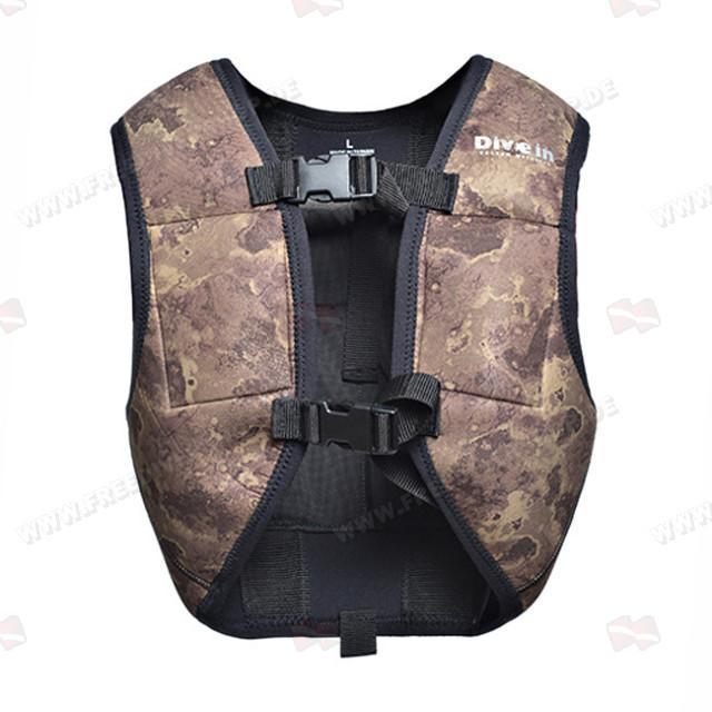 Divein Heavy 8 Weight Camouflage Vest