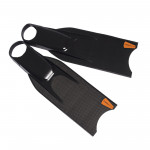 Leaderfins Saver Rapid Carbon Fins + Socks / 5 Pairs Lot