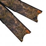 Leaderfins Brown Camouflage Flossen Blätter