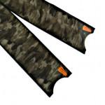 Leaderfins Green Camouflage Flossen Blätter