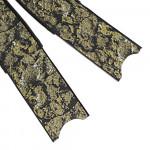 Leaderfins Golden Sand Carbon Fiber Neo Flossen Blätter