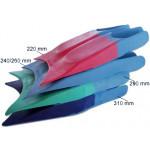 WaterWay Monoflossen Fußtaschen