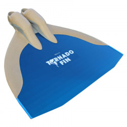 WaterWay Finswimming Tornado Monofin - Black Blade