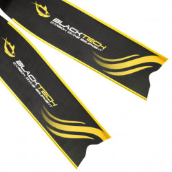 BlackTech Freediving Range 100% Carbon Blades