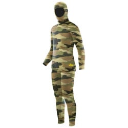 Elios Shaca / Marrone Camouflage - Tailor Made Wetsuit