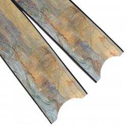 Leaderfins Wave Camouflage Black Fin Blades